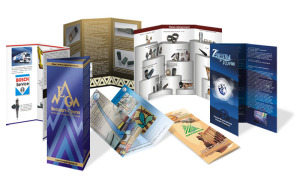 Буклеты: печать, производство, изготовление и дизайн в Алматы. Полиграфия, типография, рекламное агентство полного цикла в Алматы: BAKULA.